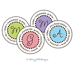 Sweet Tooth round labels