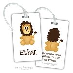 Lion premium bag tag