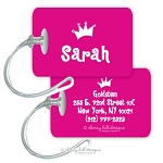 Princess - premium bag tag