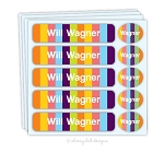 Candy - waterproof name labels value combo - set of 24