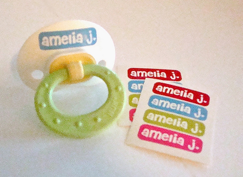 [sweetheart] waterproof tiny name labels - set of 64
