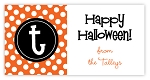 Initially Yours {halloween} goodie tags
