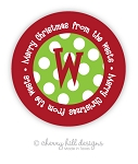 Sailor Suit {holiday} round labels