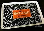 Halloween serving tray