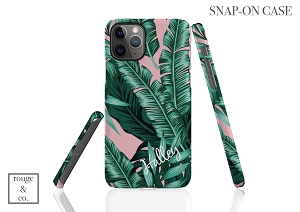 Palm Leaf Personalized iPhone Case