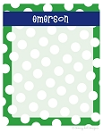 Sailor suit {green} memo board