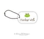 Froggie mini tags - set of 2