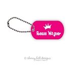 Princess - mini tags - set of 2