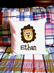 Lion - personalized pillow cover