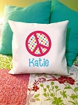 Peace - personalized pillow cover