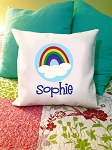 Rainbow - personalized pillow cover