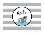Shark kids placemat