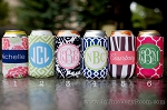 easy-order drink beverage insulator by rouge & co. - choose from six popular preset designs