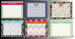 easy-order memo board by rouge & co. - choose from six popular preset designs