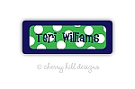 Sailor Suit {green} iron on name labels