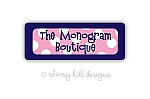 Sailor Suit {pink} iron on name labels