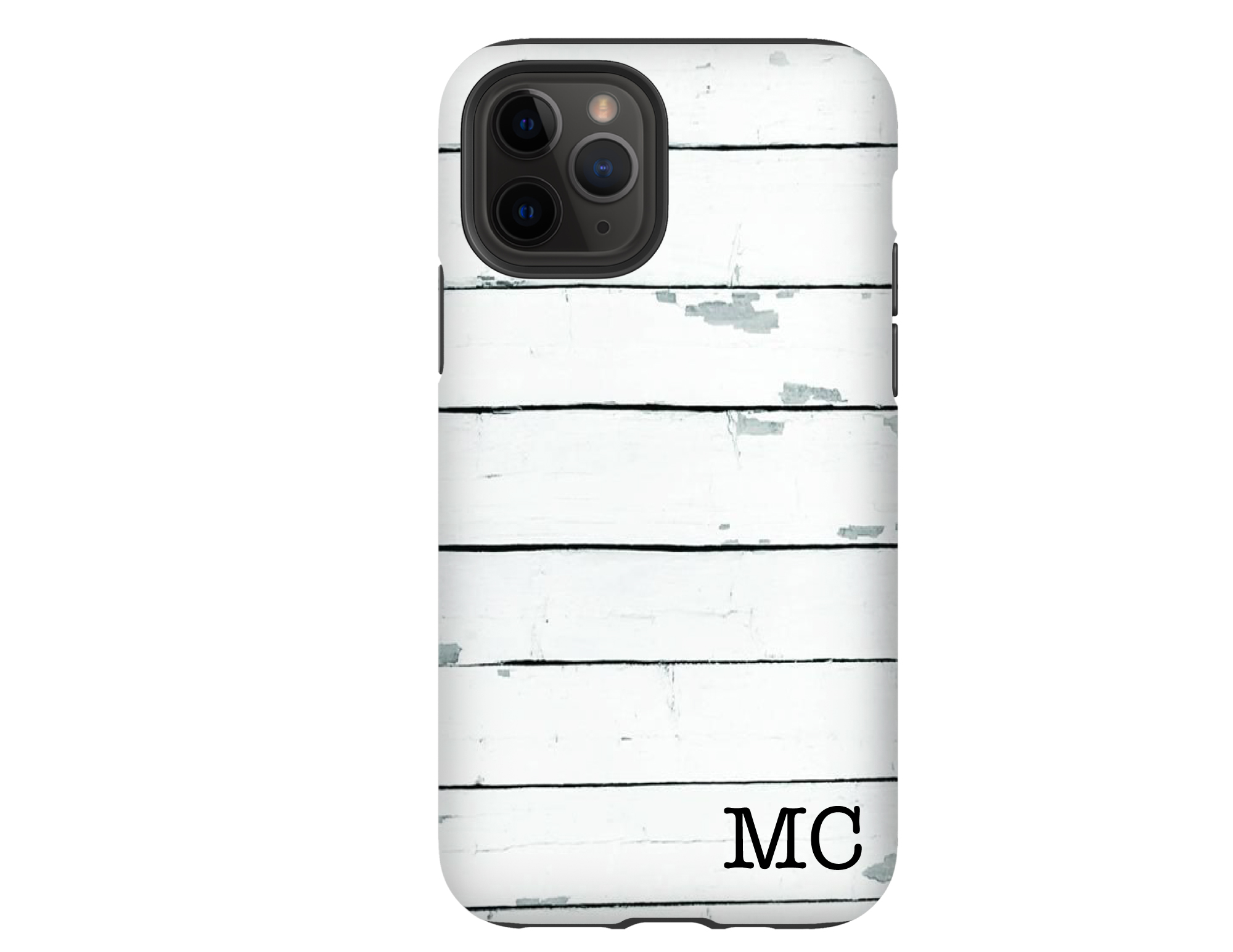 Shiplap Personalized iPhone Case
