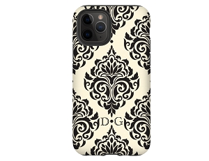 Damask Personalized iPhone Case