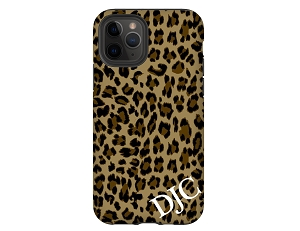 Leopard Personalized iPhone Case