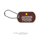 Wild West mini tags - set of 2