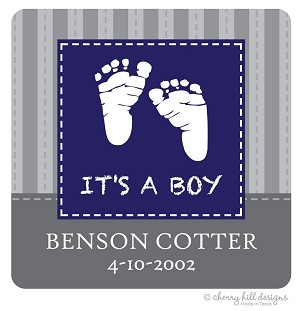 It's a Boy! Gift Tags - Set of 24