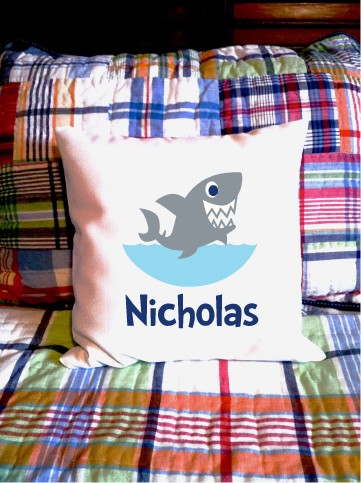 Shark - personalized pillow cover